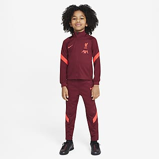 Liverpool F.C. Strike Younger Kids' Football Tracksuit
