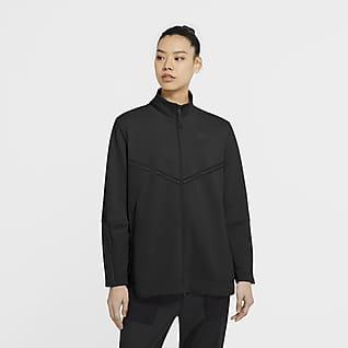 Nike Sportswear Tech Fleece Hosszú cipzáras, hosszú ujjú női polár