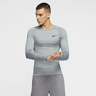 Mænd Træning og fitness Langærmede Trøjer. Nike DK