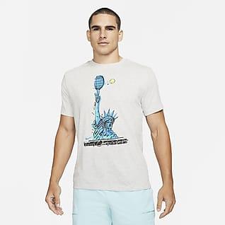 NikeCourt Dri-FIT Мужская теннисная футболка