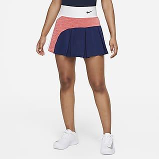 NikeCourt Advantage Tennisnederdel til kvinder