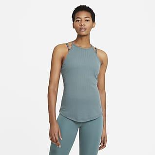 Nike Yoga Pointelle Женская майка