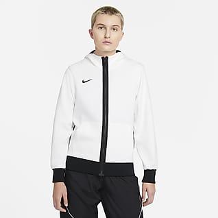 Nike Dri-FIT Showtime Sudadera con capucha de básquetbol con cierre completo para mujer