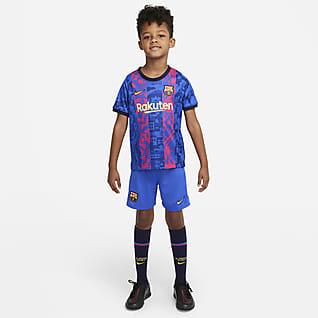FC Barcelona 2021/22 Third Fußballtrikot-Set für jüngere Kinder