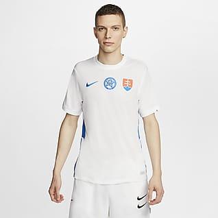 Eslovaquia 2020 Stadium de visitante Camiseta de fútbol para hombre