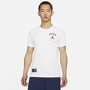 パリ サンジェルマン メンズ ロゴ Tシャツ
