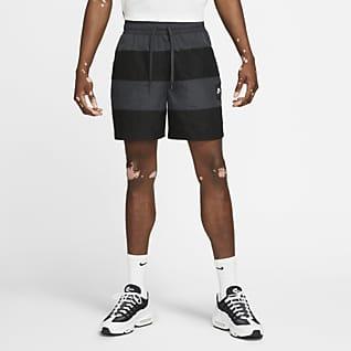 Nike Air กางเกงขาสั้นผู้ชายแบบทอ