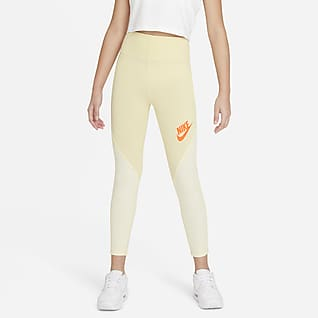 Nike Sportswear Favorites Leggings med høyt liv til store barn (jente)