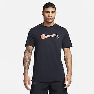 Nike Dri-FIT Erkek Koşu Tişörtü