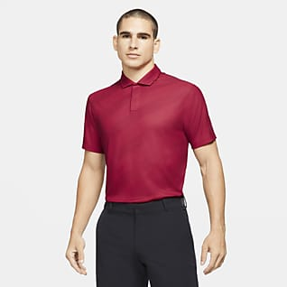 Nike Dri-FIT Tiger Woods Men's Striped Golf Polo