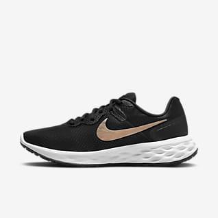 Nike Revolution 6 Next Nature Hardloopschoenen voor dames (straat)