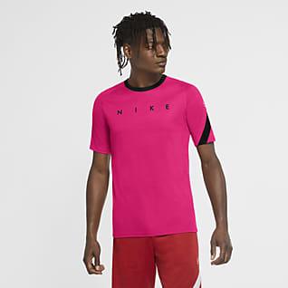 Nike Dri-FIT Academy Kortärmad fotbollströja med tryck för män