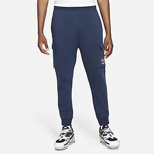 Nike Sportswear Мужские флисовые брюки карго