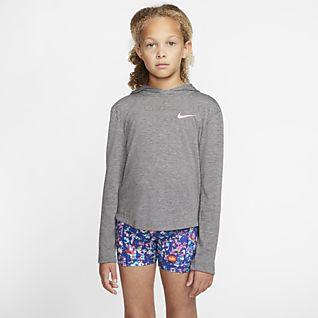 Nike Dri-FIT Trophy Big Kids' (Girls') Training Hoodie
