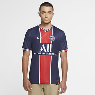 Paris Saint-Germain 2020/21 Stadium Home Męska koszulka piłkarska