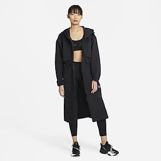 Nike City Ready Chamarra de entrenamiento plegable para mujer