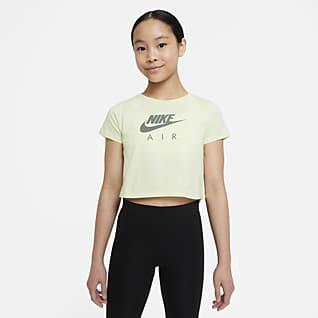 Nike Sportswear Big Kids' (Girls') Crop T-Shirt