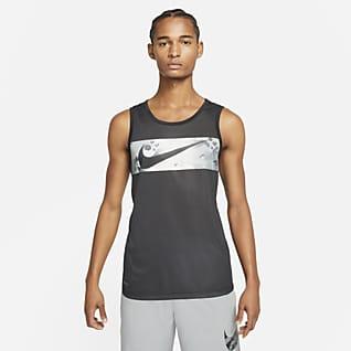 Nike Legend Ανδρικό φανελάκι προπόνησης με Swoosh και μοτίβο παραλλαγής
