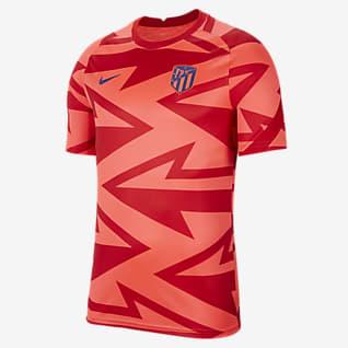 Atlético Madrid Haut de football à manches courtes d'avant-match pour Homme
