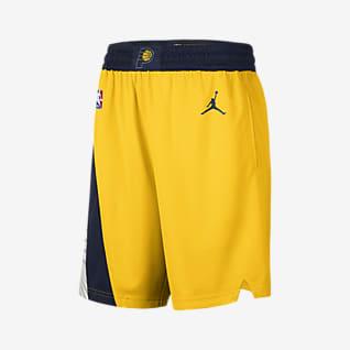 Pacers Statement Edition 2020 Shorts Jordan NBA Swingman för män