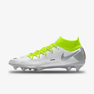 Nike Phantom GT Elite By Crystal Dunn Chaussure de football à crampons pour terrain sec personnalisable