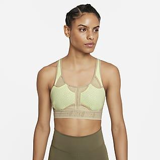 Nike Dri-FIT ADV Swoosh Sport-BH mit mittlerem Halt für Damen