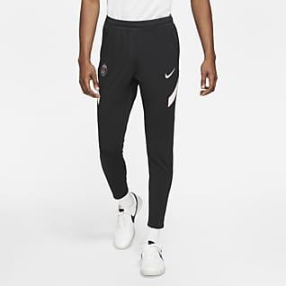 Equipamento alternativo Strike Paris Saint-Germain Calças de futebol de malha Nike Dri-FIT para homem