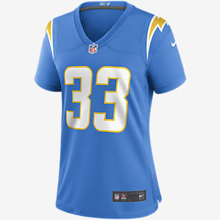 NFL Los Angeles Chargers (Derwin James) Women's Game Football Jersey