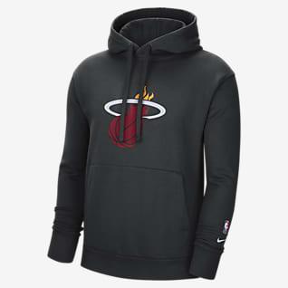 Miami Heat Essential Sweat à capuche en tissu Fleece Nike NBA pour Homme