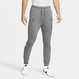 Liverpool FC Męskie spodnie piłkarskie Nike Dri-FIT
