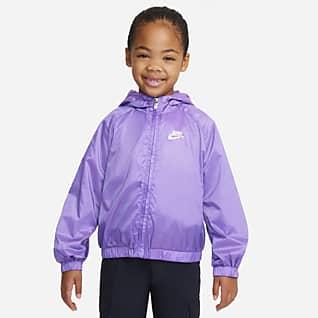 Nike Sportswear Chamarra de cierre completo para niños talla pequeña