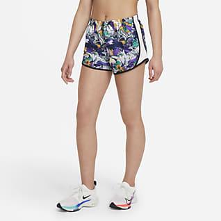 Nike Dri-FIT Tempo Shorts de entrenamiento para niña talla grande