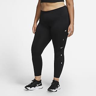 Nike One Women's 7/8 Leggings (Plus size)
