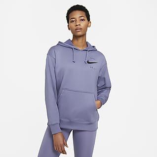 Nike Therma Sudadera con gorro de entrenamiento para mujer