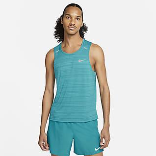 Nike Dri-FIT Miler Haut de running sans manches pour Homme
