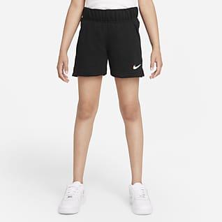Nike Sportswear Dansshorts i frotté för ungdom (tjejer)