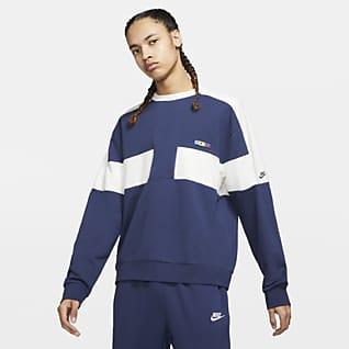 Nike Sportswear Reissue Herentop van sweatstof met ronde hals
