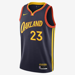 Golden State Warriors City Edition Nike NBA Swingman Jersey