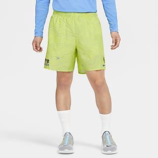 Nike Challenger Pánské běžecké kraťasy svšitými slipy