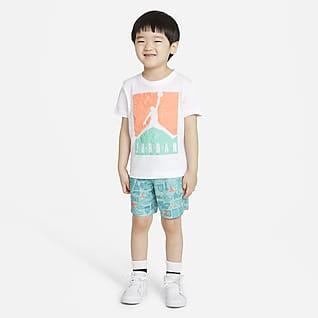 Jordan Conjunto de playera y shorts para bebé