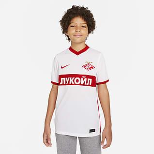 Spartak Moscow 2021/22 Stadium Extérieur Maillot de football Nike Dri-FIT pour Enfant plus âgé