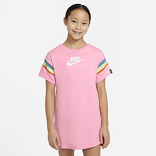 Nike Sportswear Heritage Older Kids' (Girls') Short-Sleeve Dress