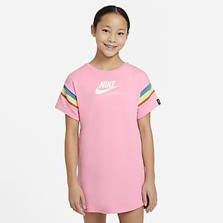 Nike Sportswear Heritage Vestit de màniga curta - Nena
