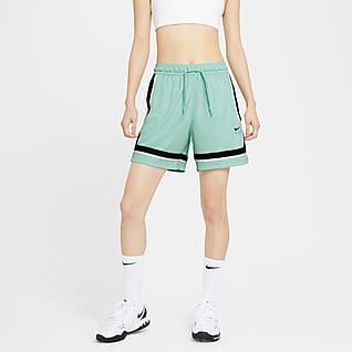 Nike Fly Crossover กางเกงบาสเก็ตบอลขาสั้นผู้หญิง