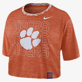 Nike College (Clemson) Women's Crop T-Shirt
