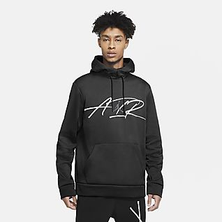 Jordan Air Therma Men's Graphic Training Fleece Hoodie