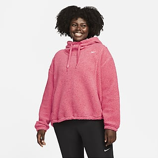 Nike Therma-FIT Women's Pullover Training Hoodie (Plus Size)