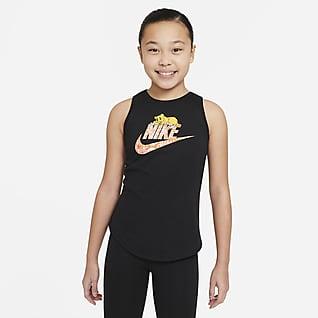 Nike Sportswear Camiseta de tirantes para niña talla grande
