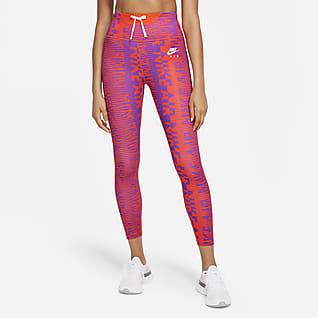Nike Air Epic Fast Leggings da running a 7/8 a vita alta con stampa - Donna