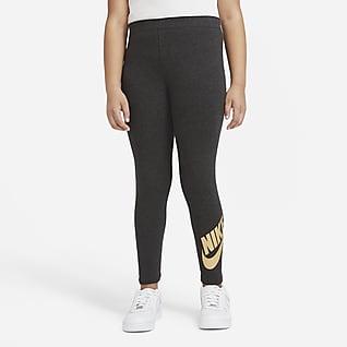 Nike Sportswear Favorites Leggings til store børn (piger) (udvidet størrelse)
